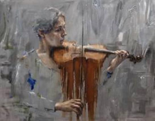 violino de chocolate __ web face friend