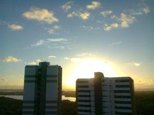`,,´__ só pra matar saudade do sol, nascendo na Coroa do Meio  __  Aracaju, by alf ...; !!!