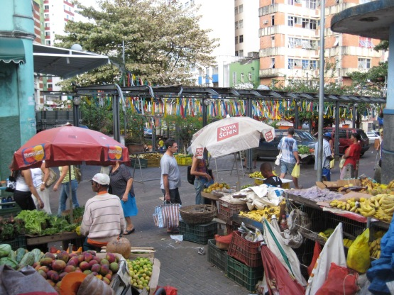feira no largo __ Dois de Julho, salvador, by alf