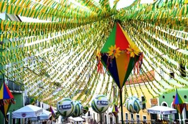 Decoração São João Pelô 2014. Foto Tatiana Azeviche - Setur