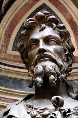 São João Batista – bronze de Lourenço Ghiberti em Florença.
