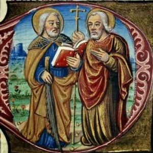 santos simão e judas - apóstolos