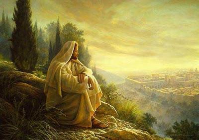 jesus observa jerusalém