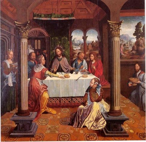 Marta e Maria irmãs de Lazaro, amigos de Jesus