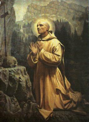 São Bruno - Hugo, o bispo da diocese francesa de Grenoble,