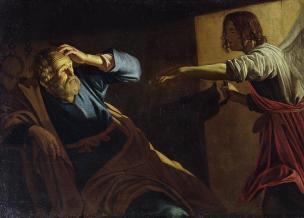 Resultado de imagem para 1 Vi, então, descer do céu um anjo que tinha na mão a chave do abismo e uma grande algema.