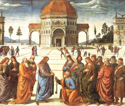 e Jesus, fixando nele o olhar, disse: 'Tu és Simão, filho de João; serás chamado Cefas