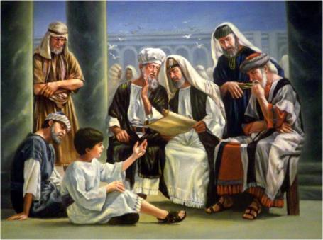 Resultado de imagem para entrou no templo com os discipulos e pos se a ensinar