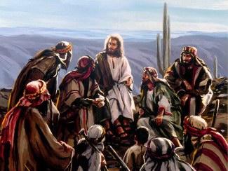 """perguntou-lhes Jesus: """"E vós, quem dizeis que eu sou?"""" Respondeu Pedro: """"Tu és o Cristo"""""""