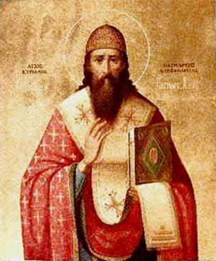 são cirilo de alexandria ou Bispo de Alexandria tem também os