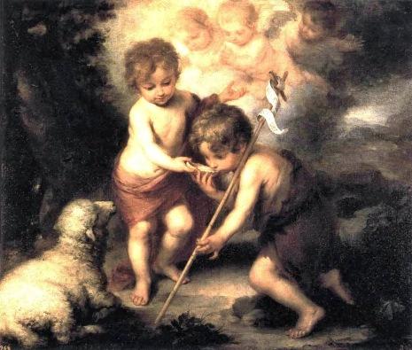 Menino Jesus e MeninoJoo Batista